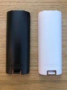 2x Genuine Nintendo Battery Back Cover For Wii Remote Controller Wiimote