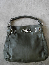 Gorgeous! DKNY Donna Karan Pebbled Leather Hobo/Shoulder Handbag Purse