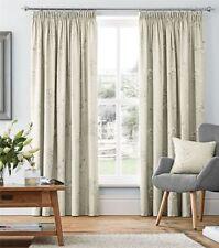 Rideaux gris pour la maison, en 100% coton