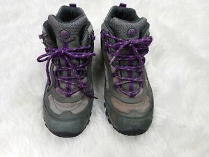 MERRELL Women's Siren J21494 Granite/Purple Waterproof Hiking Boots Size 9