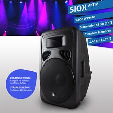 "eSmart Germany PA Speaker HSR 210A Aktiv 38 cm (15"") | 1.600 W"