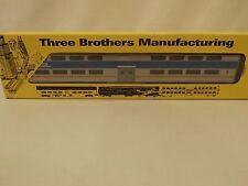 HO Three Brothers Metra bi-level coach in original box
