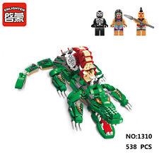 Enlighten Pirates Legendary 1310 Crocodile Building Block Toys Compatible