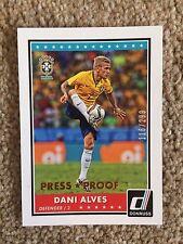 +++ Dani Alves 2015 Donruss tarjeta de fútbol podría a prueba de prensa # #74 - Brasil +++