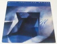 BILLY JOEL SIGNED THE BRIDGE VINYL ALBUM LP AUTHENTIC AUTOGRAPH COA