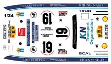 #19 Porsche 911 2.7 RS Safari Rally 1/25th - 1/24th Scale Waterslide Decals