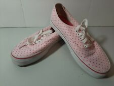 Vans Shoes Sneakers TB4R Skateboarding Low Top Pink Womens 8.5