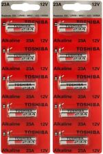 10 Toshiba A23 23A 23AE 21/23 GP23 23GA MN21 12 Volt 12v  Batteries
