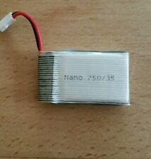Lipo Battery Nano 1S 3.7V 750 mAh 35c