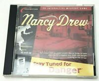 Nancy Drew: Stay Tuned For Danger PC (2002, Her Interactive) 3D Mystery
