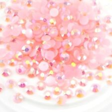 ❤️NOUVEAU LOT 300 CRISTAL STRASS ROSE 3MM BIJOUX ONGLES NAIL ART