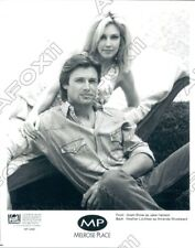 1994 Actress Heather Locklear & Grant Show  Melrose Place Press Photo