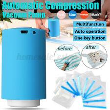 USB Mini Portable Automatic Electric Compression Vacuum Pump Household + Bags !!