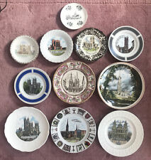 More details for 11 english cathedral plates salisbury st pauls coventry canterbury and others