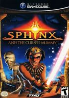 Sphinx And The Cursed Mummy Nintendo Gamecube - Game Only