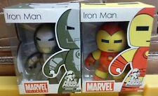 Iron Man MIGHTY MUGGS Comic Style Figure Lot of 2 MIB!