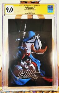 Duck Avenger #1 - Virgin Variant Signed by Gabriele Dell'Otto - IDW - CGC SS 9.0