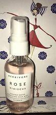 Herbivore Botanicals Rose Hibiscus Hydrating Face Mist 2 oz  New