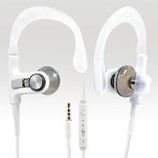 3.5 mm Audio Handsfree Bass w/ Control Talk Mic Sport Headset For Nokia C1-02