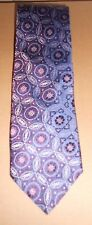 ALTEA Mens Authentic Purple Pink Maroon & Blue Tie - Free Shipping