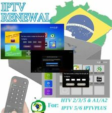 IPTV Brazil Renewal,16 Digit activation code for A2 IPTV 5 6 8 HTV 3 5 6