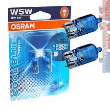 2 pièces OSRAM 12v COOL BLUE INTENSE feu de position w5w t10 4000k glassockel Halogène