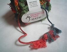 Trendsetter MASAI Yarn WILD Carry Along Wool Blend FUN! 50 Grams