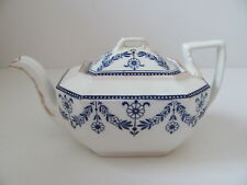 Antique Wedgwood Teapot Blue and White ca1878