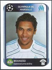 PANINI UEFA CHAMPIONS LEAGUE 2010-11- #378-MARSEILLE-BRANDAO