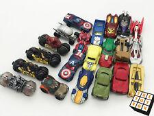 Hot Wheels Diecast Toy Car x21 DC Marvel Comic Book
