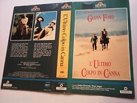 Locandina vhs L' ULTIMO COLPO IN CANNA (1968) - MGM Video - originale - Used
