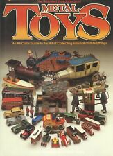 Antique Metal Tin Cast Iron Toys - Cars Trucks Airplanes Military Etc. / Book