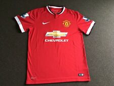Authentic Manchester United 14/15 Di Maria size M home jersey
