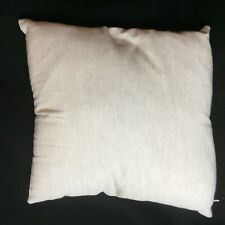 """16"""" Zipped Linen Scatter Cushion Ivory Window Seat Throw Cushion"""