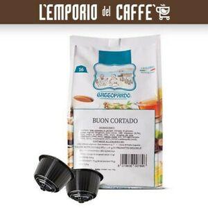 384 Capsules Gattopardo Cortado Compatible Nescafe Dolce Gusto No borbone