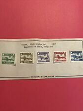5 China Stamps 1949- Mh-Inforforated Issue