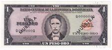 Dominican Republic 1 Peso 1964 - 1973 SPECIMEN Dominicana P# 99s UNC (31396)