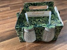 Drinkware, Pineapple Design, set of 4