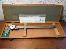 Mitutoyo 12 Inch Dial Caliper No 505 645 50 With Case