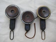 3 Antike Telefonhörer