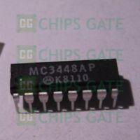 3PCS NEW MC3448AP MOT 0438+ DIP-16