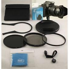 55mm Filter kit UV CPL FLD Lens Hood Wrench cap Fits Nikon AF-P 18-55mm D5600