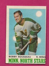 1970-71 OPC  # 170 NORTH STARS BOBBY ROUSSEAU EX-MT CARD (INV# A1518)