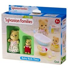 Sylvanian Families Baby Bath Time Playset NEW! Andromeda Petite & Jason Petite