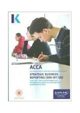 Strategic Business Reporting (Acca Study Texts) by Kaplan Publishing Book The