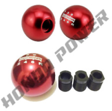 RED Mugen Style 6 Speed Gear/Shift Knob(JDM/Honda/Civic/FN2/EP3/Integra/DC5)