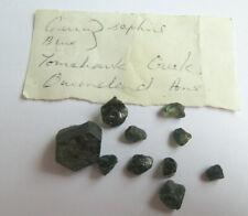 Natural Green Blue Uncut Australian Sapphires Tomahawk Creek Sapphires