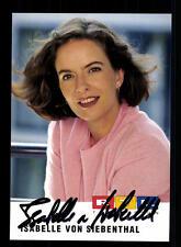 Isabelle von Siebenthal RTL Autogrammkarte Original Signiert # BC 61185
