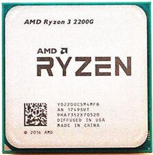 AMD Ryzen 3 2200g r3-2200g 3.5 GHz 4 Core 4thr 14nm chipset am4 65w CPU processo