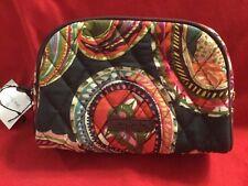 Vera Bradley Small Zip Cosmetic Bag in Heirloom Paisley travel bag